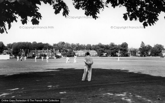 Photo of Lindfield, Cricket On The Common c.1960