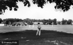 Lindfield, Cricket On The Common c.1960