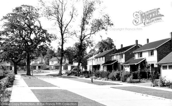 Photo of Lindfield, Finches Park Road c.1960