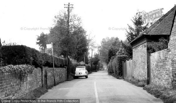 Photo of Lindfield, Hickmans Lane c.1960