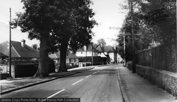 Photo of Lindfield, Hickmans Lane c.1965