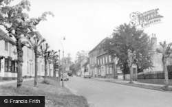 Lindfield, High Street And Bent Arms Hotel c.1960