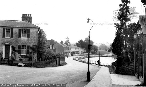 Photo of Lindfield, High Street And Pond c.1960