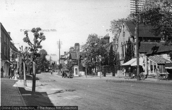 Photo of Lindfield, High Street c.1950