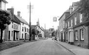 Lindfield, High Street c1955