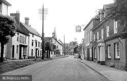 High Street c.1955, Lindfield