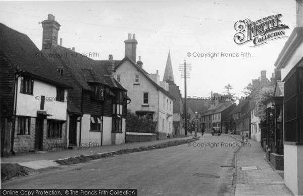 Photo of Lindfield, High Street c.1955