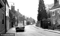 High Street c.1960, Lindfield