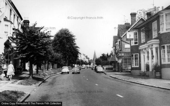 Photo of Lindfield, High Street c.1960