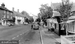 High Street c.1965, Lindfield
