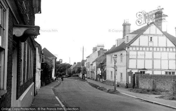 Photo of Lindfield, High Street Looking South c.1955