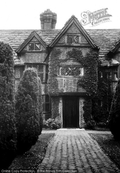 Photo of Lindfield, Old Place, West Wing c.1955
