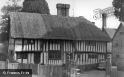 Lindfield, Thatched Cottage c.1955