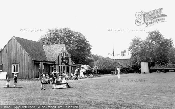 Photo of Lindfield, The Cricket Pavilion c.1960