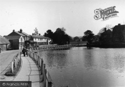 Lindfield, The Pond c.1955
