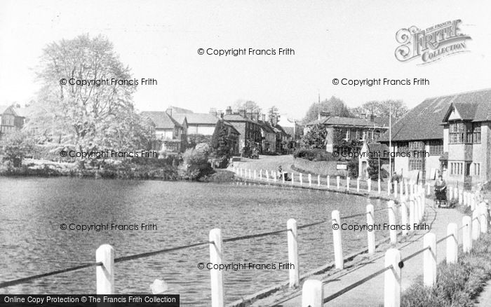 Photo of Lindfield, The Pond c.1955