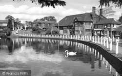 The Pond c.1960, Lindfield