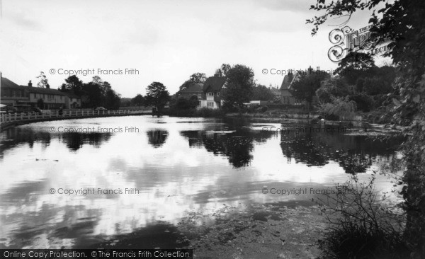 Photo of Lindfield, The Pond c.1960