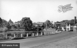 Lindfield, The Pond c.1960