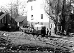 The Tudor Barn, Mill And Railway c.1955, Lindfield