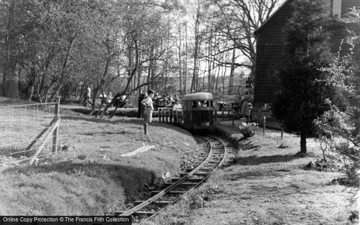 Photo of Lindfield, The Tudor Barn, Miniature Railway c.1955