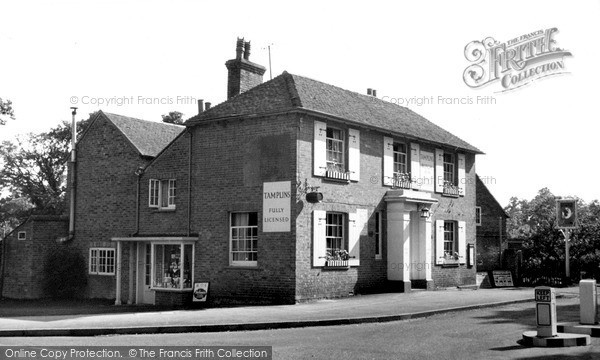 Photo of Lindfield, The Witch Inn c.1960