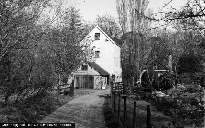 Photo of Lindfield, Tudor Barn Mill c.1955