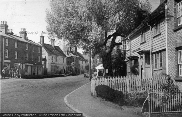 Photo of Lindfield, View From Post Office c.1950