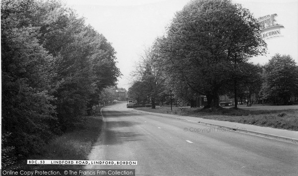 Photo of Lindford, Lindford Road c.1960