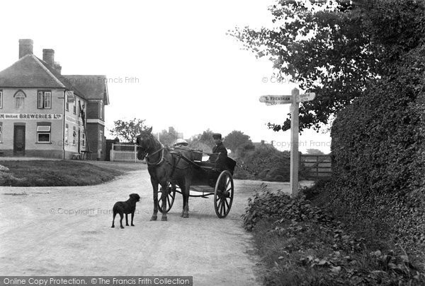 Photo of Lindford, The Village 1899