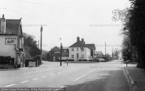 Photo of Lindford, The Village c.1960