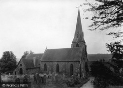 Church Of St Lawrence c.1955, Lindridge