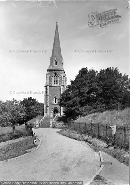 Photo of Lindridge, St Lawrence Church c.1955