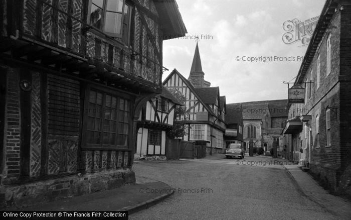 Photo of Lingfield, Church Approach 1955