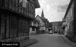 Lingfield, Church Approach 1955