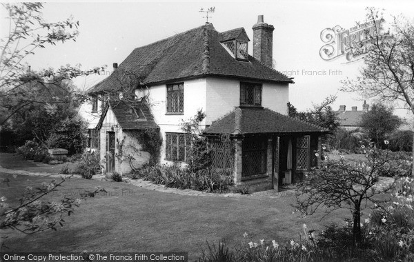 Photo of Lingfield, Church Cottage 1959