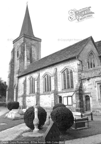 Photo of Lingfield, Church Of St Peter And St Paul 1958