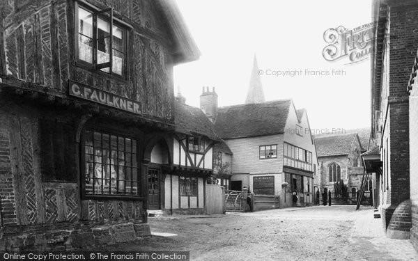 Photo of Lingfield, Church Road 1895
