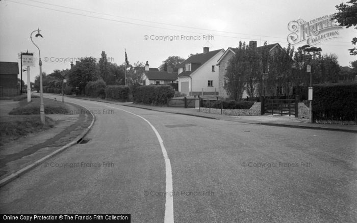 Photo of Lingfield, Church Road 1959