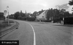 Lingfield, Church Road 1959