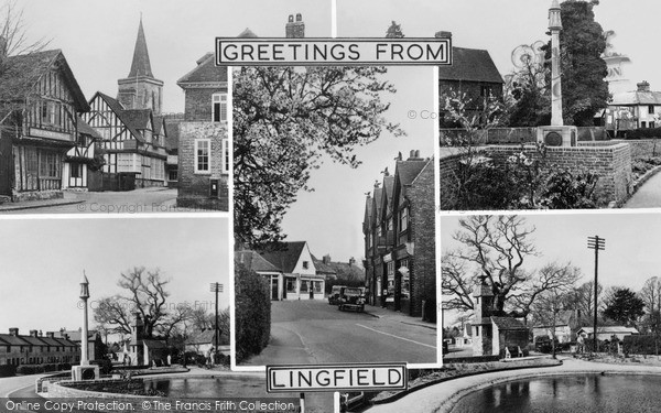Photo of Lingfield, Composite c.1955