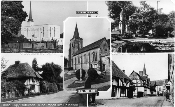 Photo of Lingfield, Composite c.1960