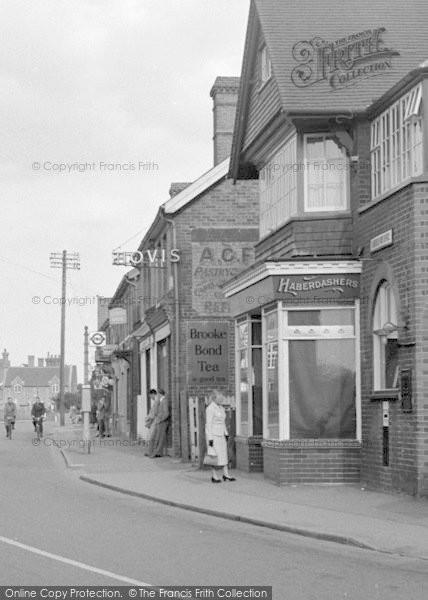 Photo of Lingfield, High Street 1955