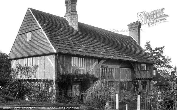 Photo of Lingfield, Old House 1904