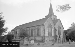 Lingfield, The Church 1958