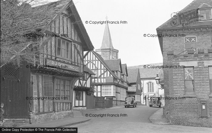 Photo of Lingfield, The Church From Church Road 1950