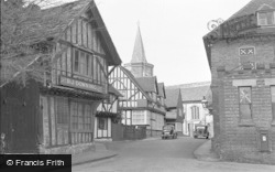 Lingfield, The Church From Church Road 1950