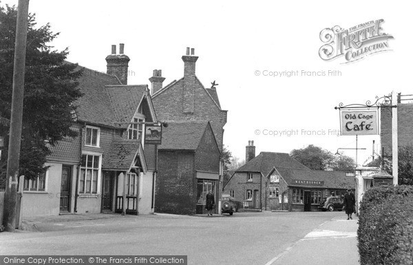 Photo of Lingfield, The Greyhound 1951