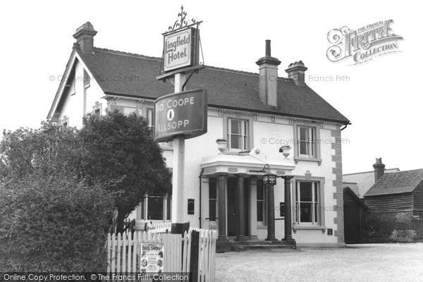 Photo of Lingfield, The Lingfield Hotel 1951