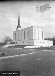 Lingfield, The Mormon Temple 1960